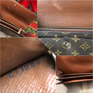 Louis Vuitton Bags - 🎄Louis Vuitton Monogram Portefeuille Sarah Long